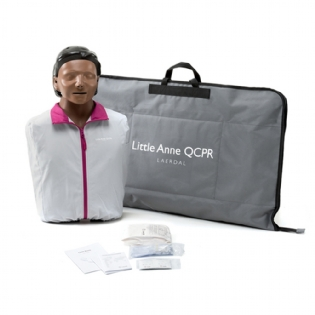 MANEQUIM DE RCP - LITTLE ANNE QCPR NEGRO