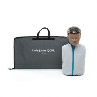 MANEQUIM DE RCP - LITTLE JUNIOR QCPR NEGRO