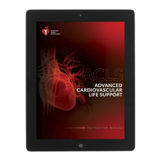 eBook - IVE Advanced Cardiovascular Life Support (ACLS) Manual do Instrutor em Inglês - Diretrizes AHA 2020